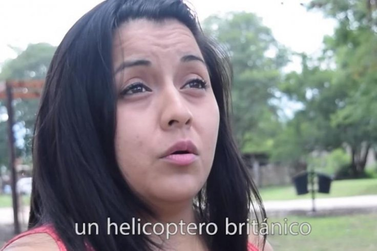 """Jesica Medina, the sister of one of the missing sailors said she received a """"strange"""" message from her brother in the days before the sub vanished"""