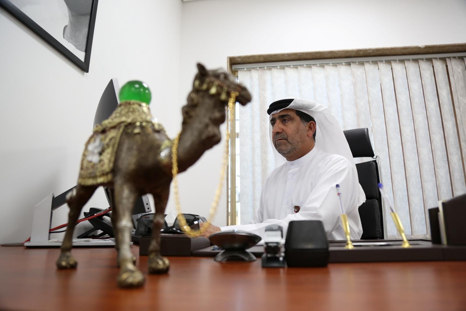 Dubai Camel Hospital boss