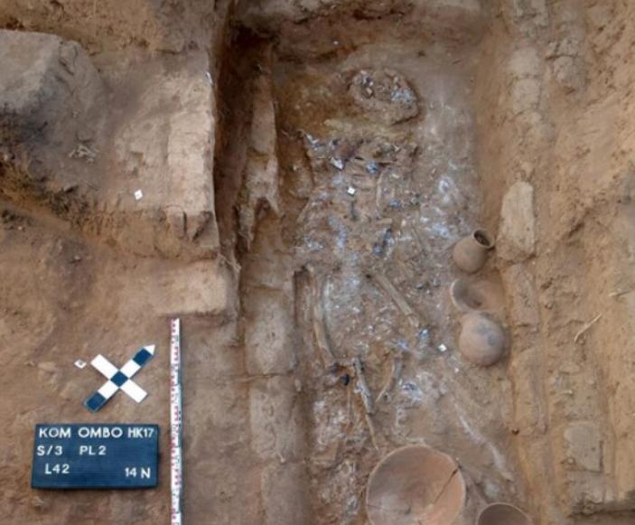Aswan burial mummy