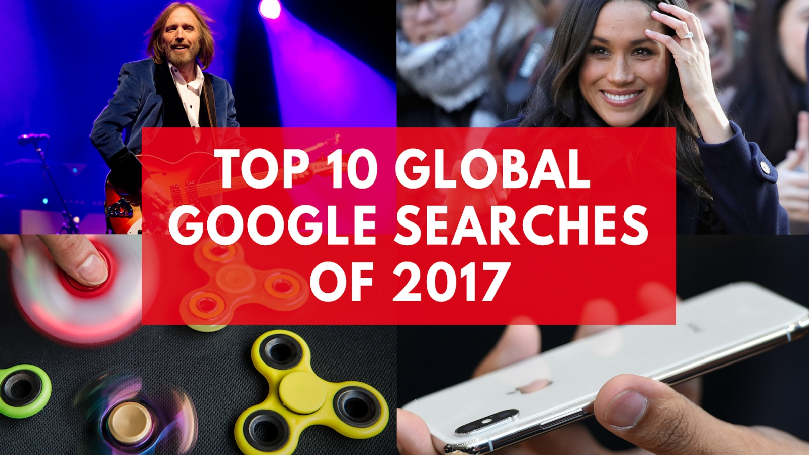 Top 10 global Google searches of 2017