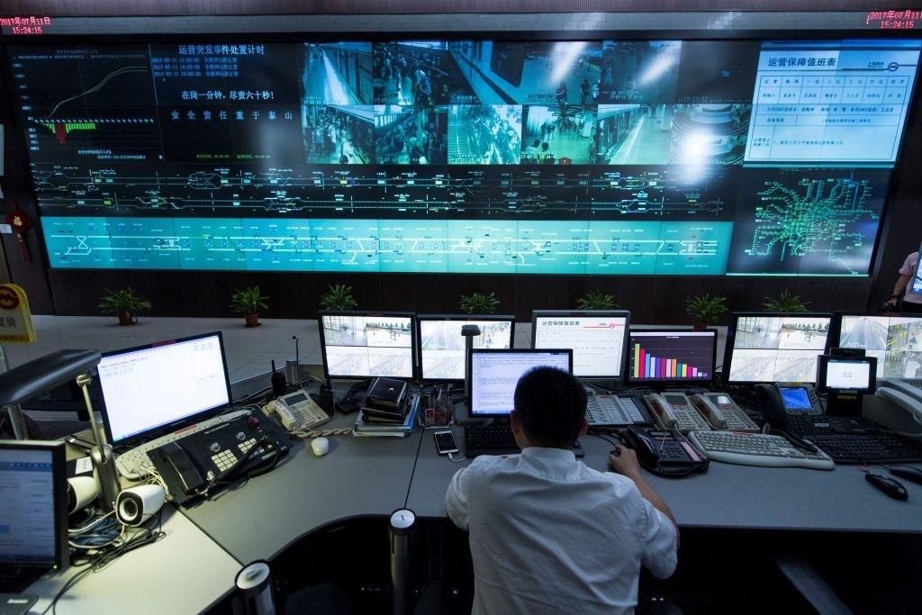 China surveillance network