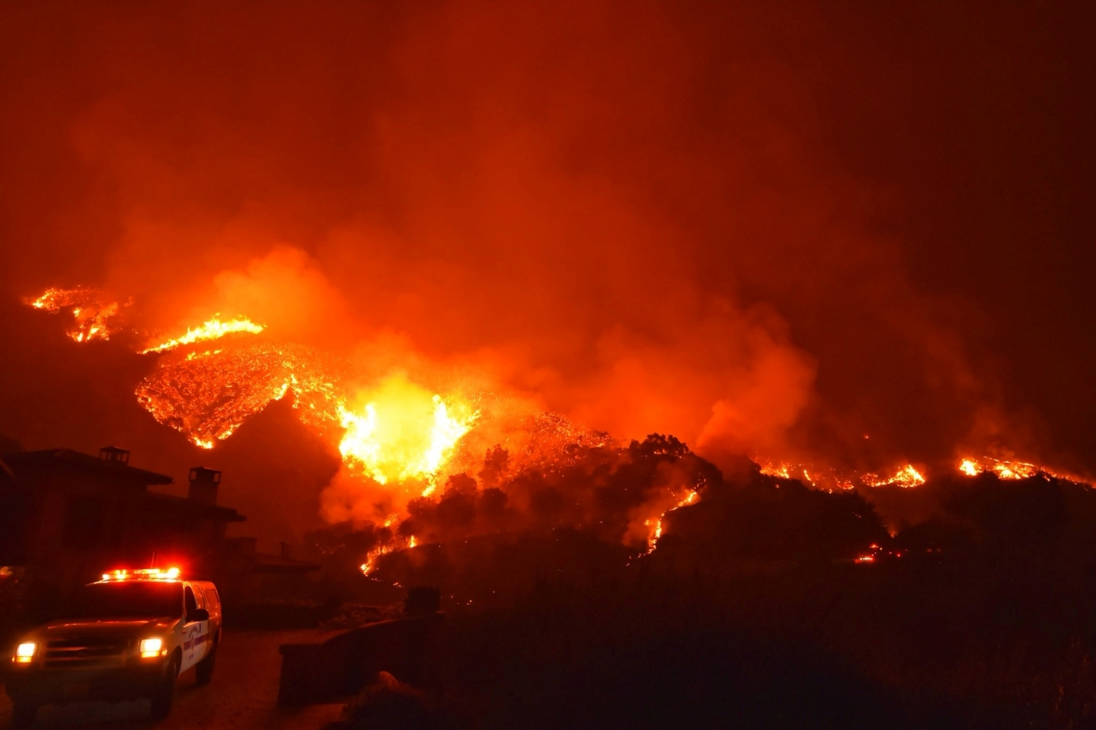 Thomas Fire California firefighter killed