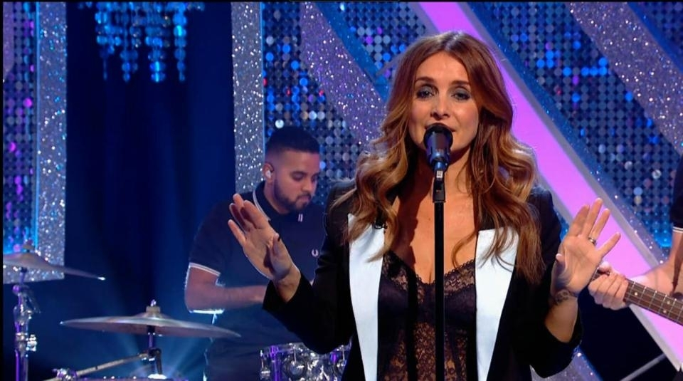 Louise Redknapp slammed for swearing on Strictly It Takes Two performance