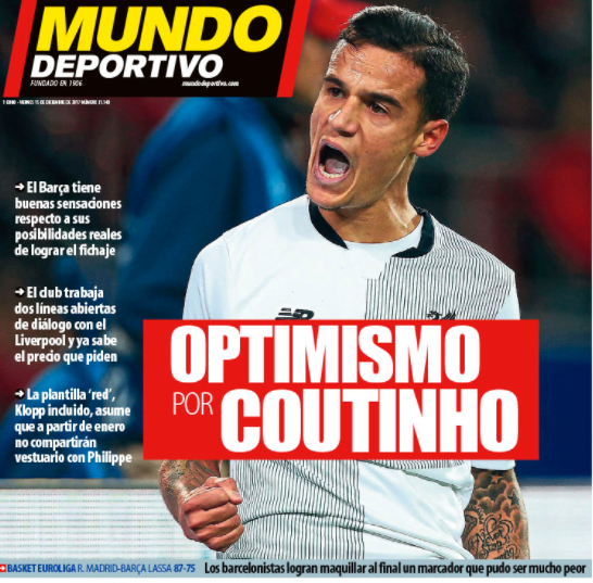 Catalan claims Coutinho has (again) demanded Liverpool transfer
