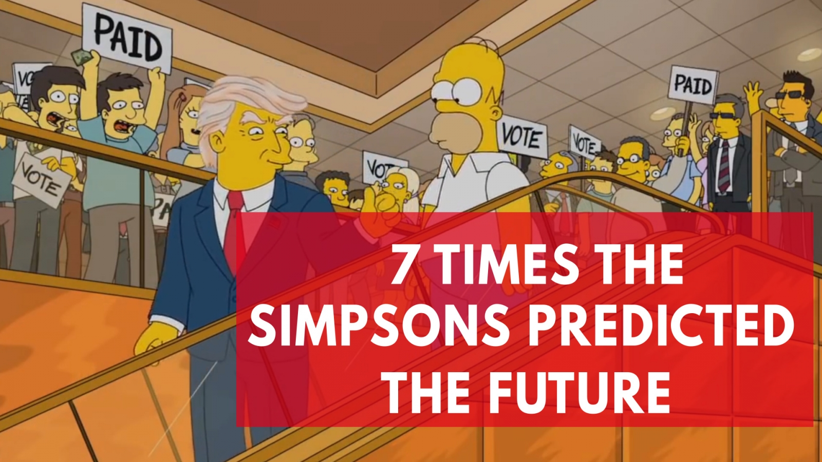 everything the simpsons has correctly predicted