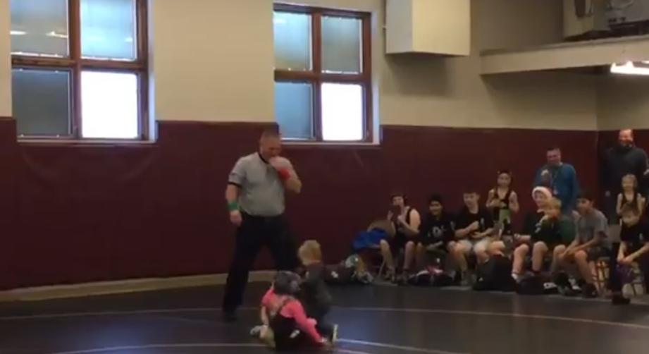 Wrestling kids