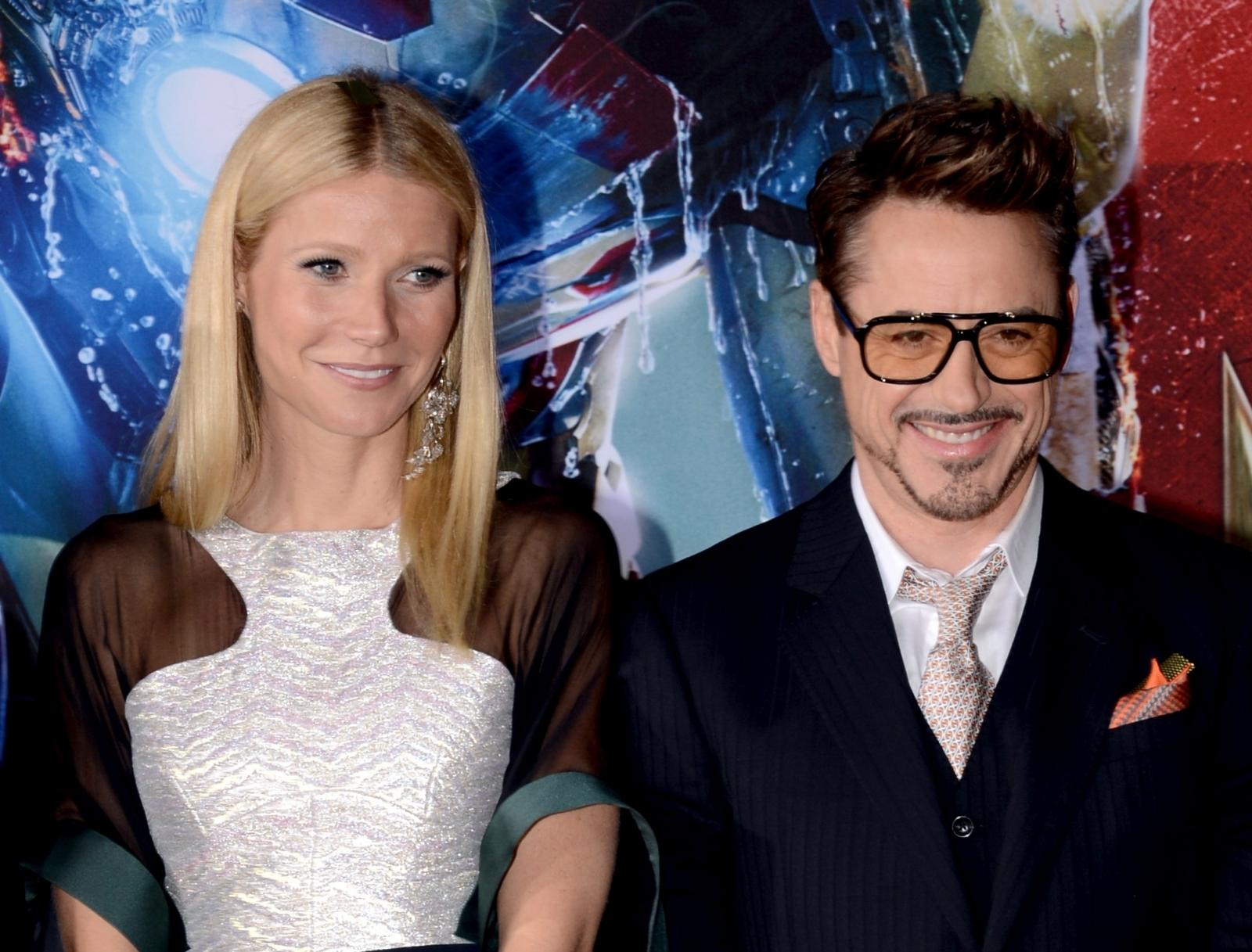 Robert Downey Jr. Gwyneth Paltrow