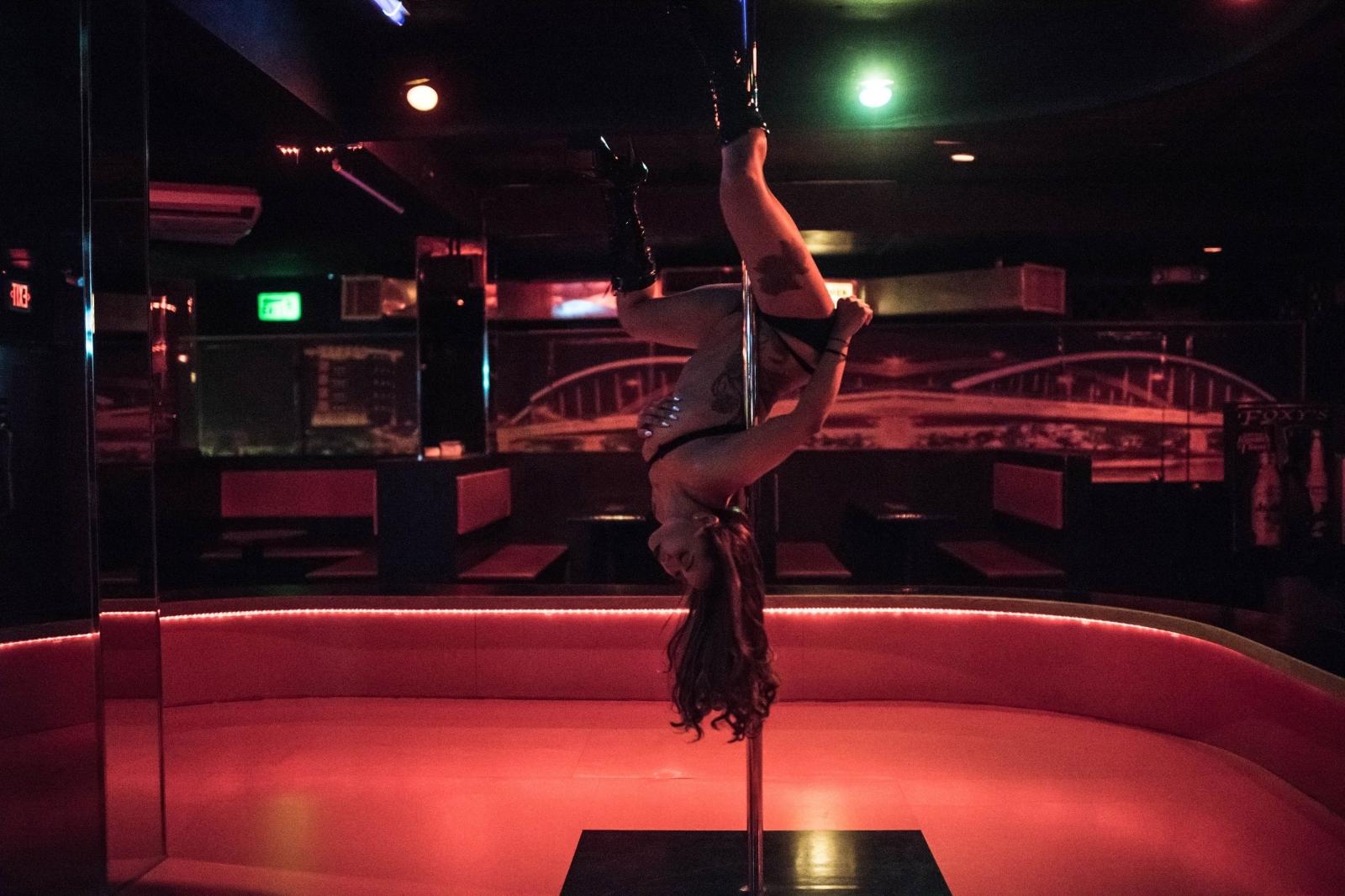 strip club