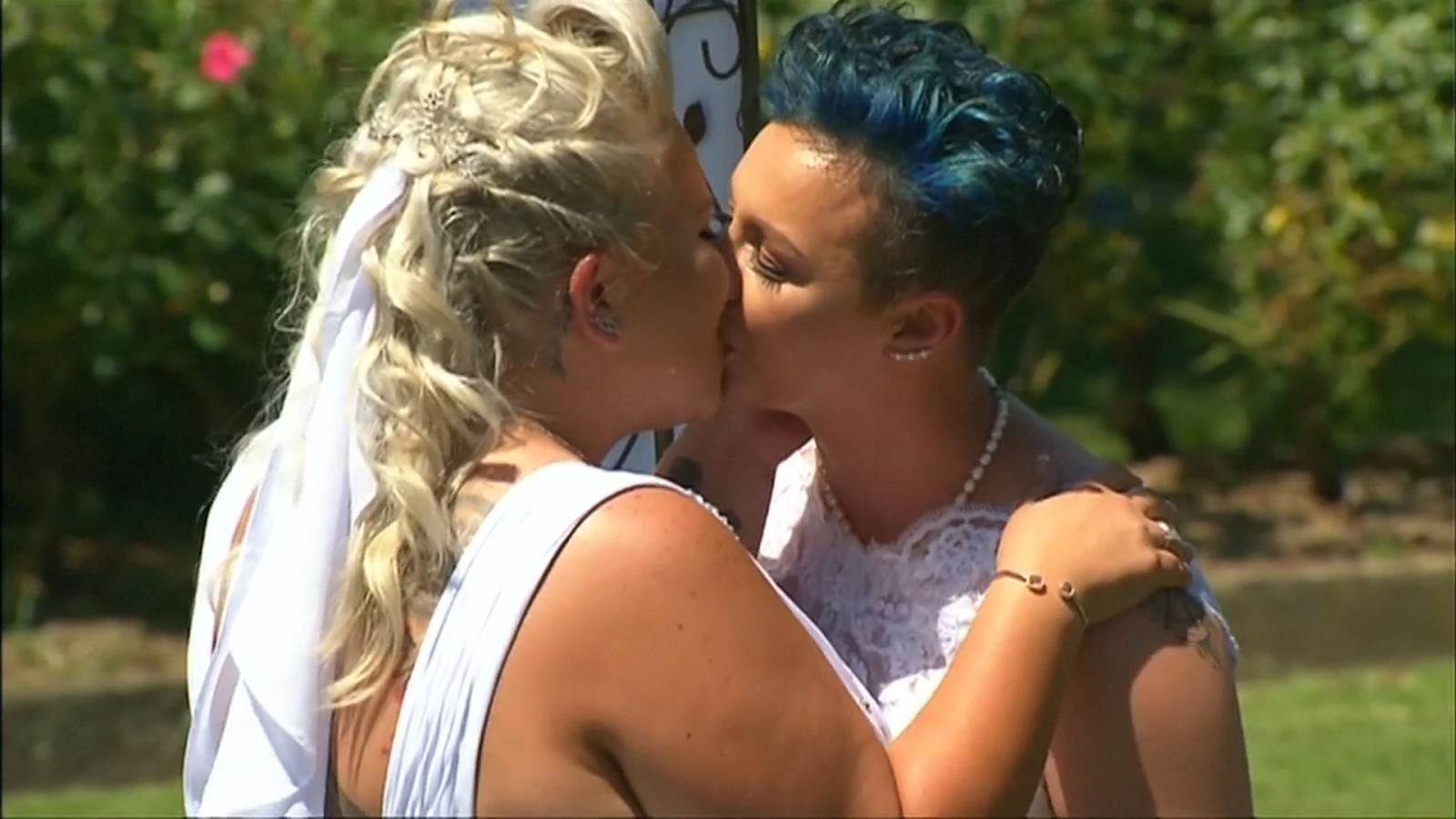 Meet Australia's first lesbian brides
