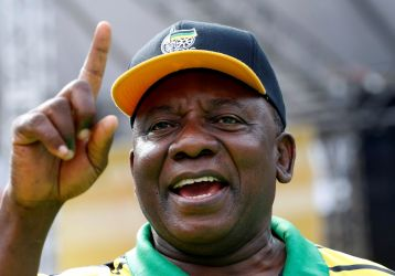 Cyril Ramaphosa South Africa ANC