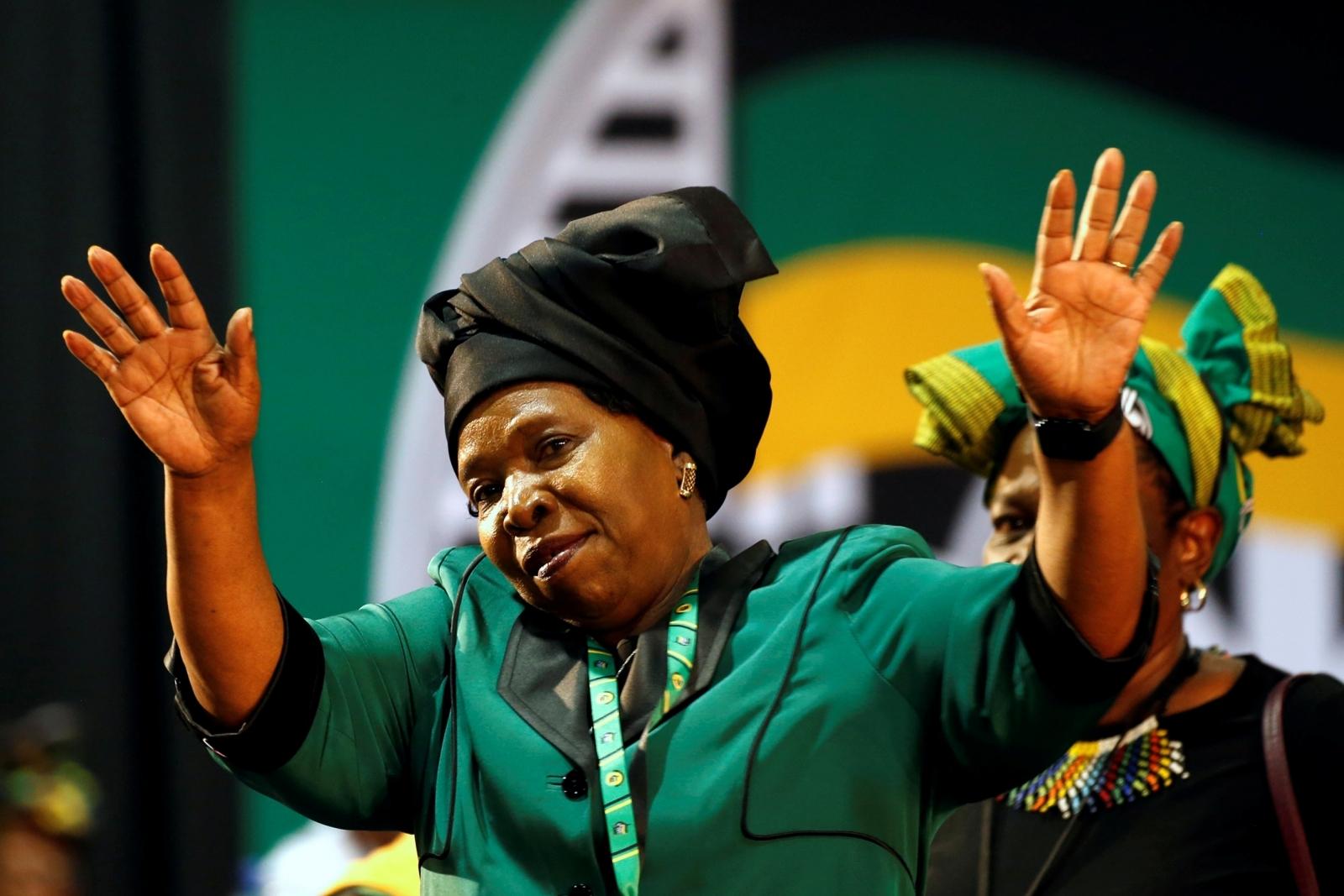 Nkosazana Dlamini-Zuma South Africa ANC