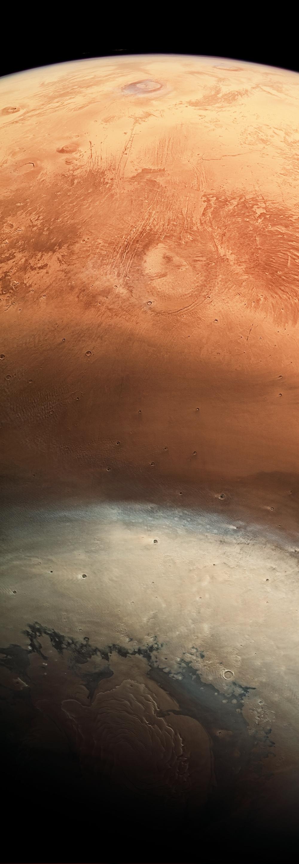 Mars upside down