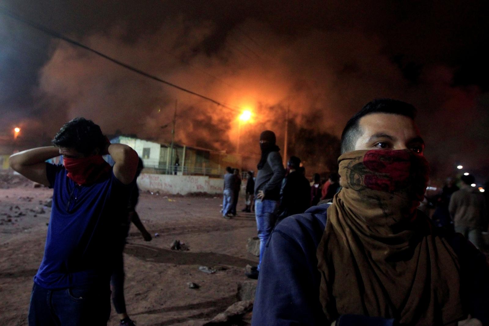 Honduras: President Juan Orlando Hernandez declared winner ...