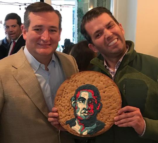 Donald Trump Jr Obama cookie