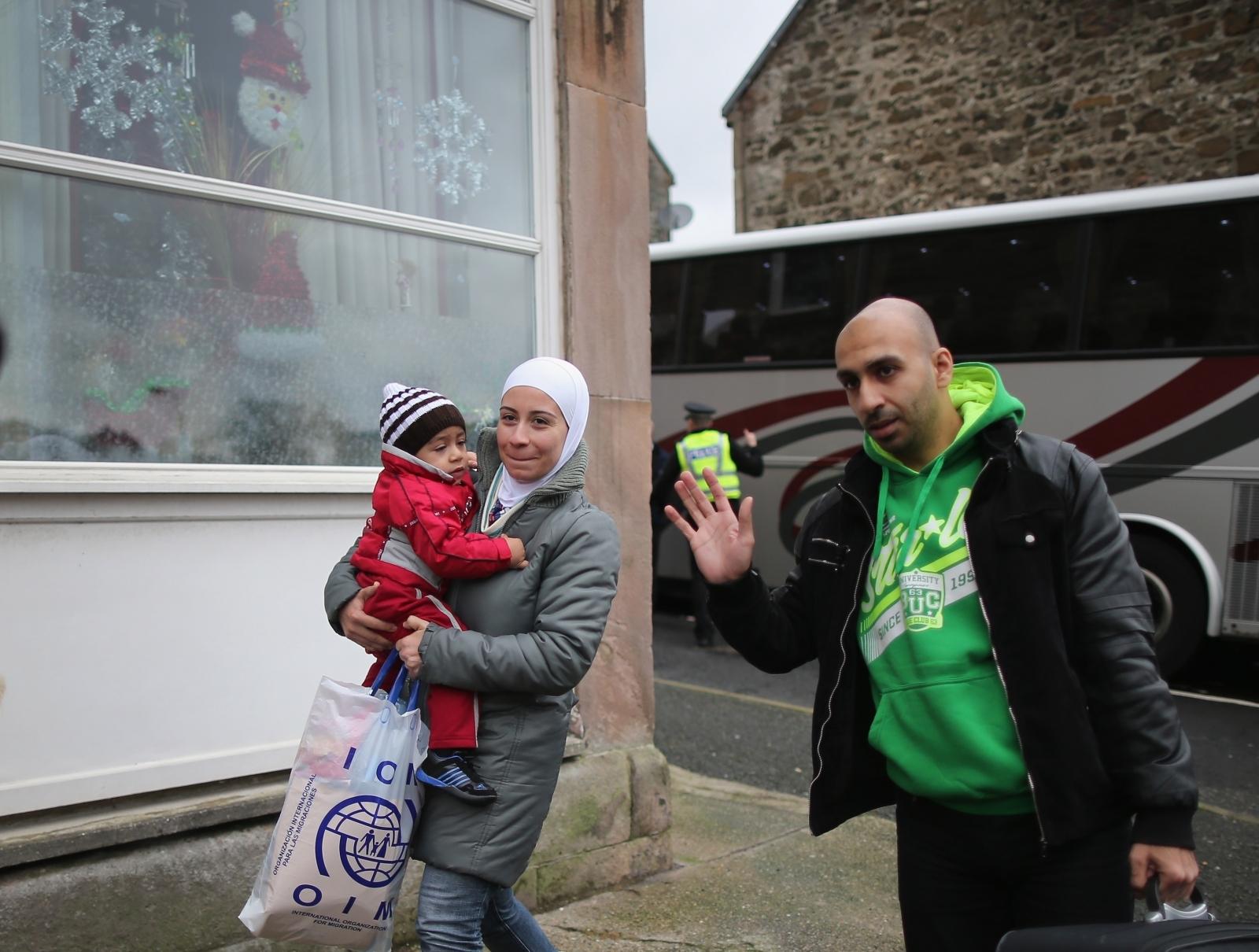 Syrian refugees Scotland