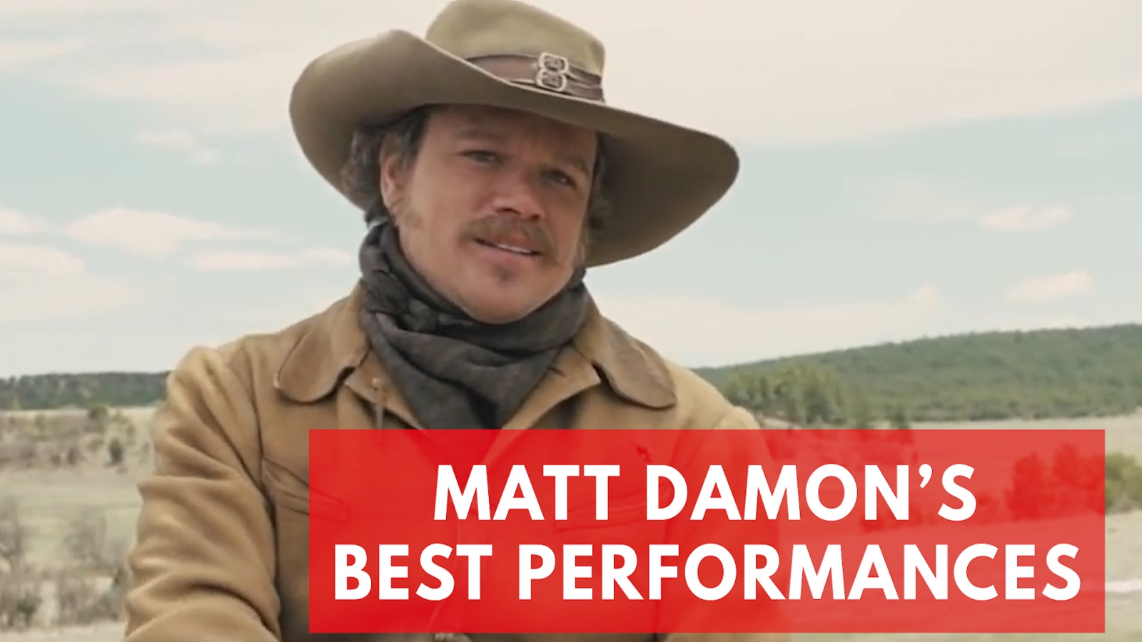 Matt Damon's best performances