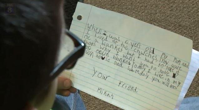 Mikah's letter