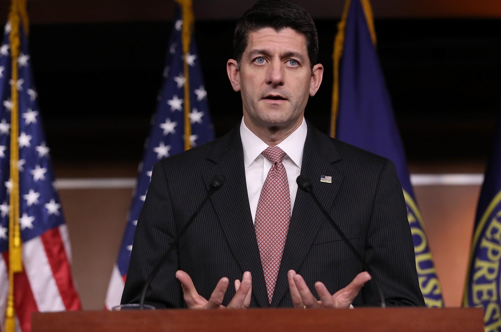 US House Speaker Paul Ryan