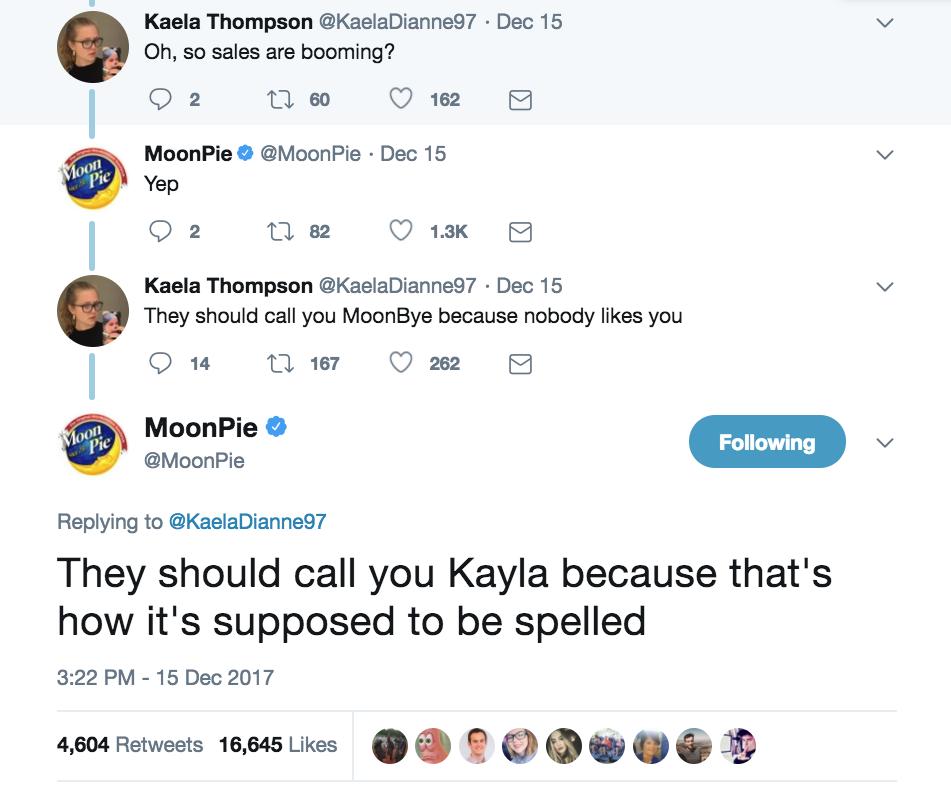 Moonpie Kayla
