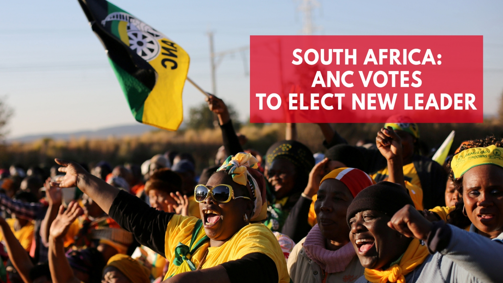 South Africa's ANC votes to elect new leader