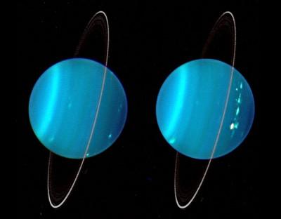 Creation of Uranus moons