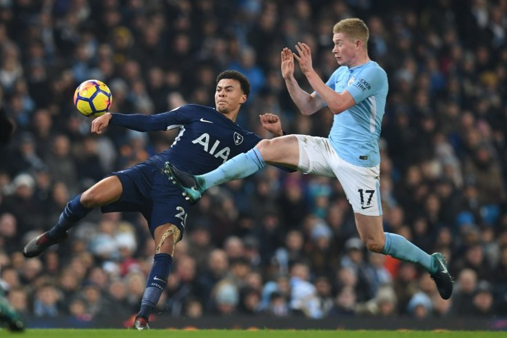 Dele Alli and Kevin de Bruyne