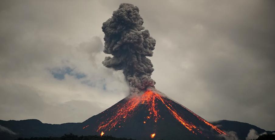 Reventador volcano