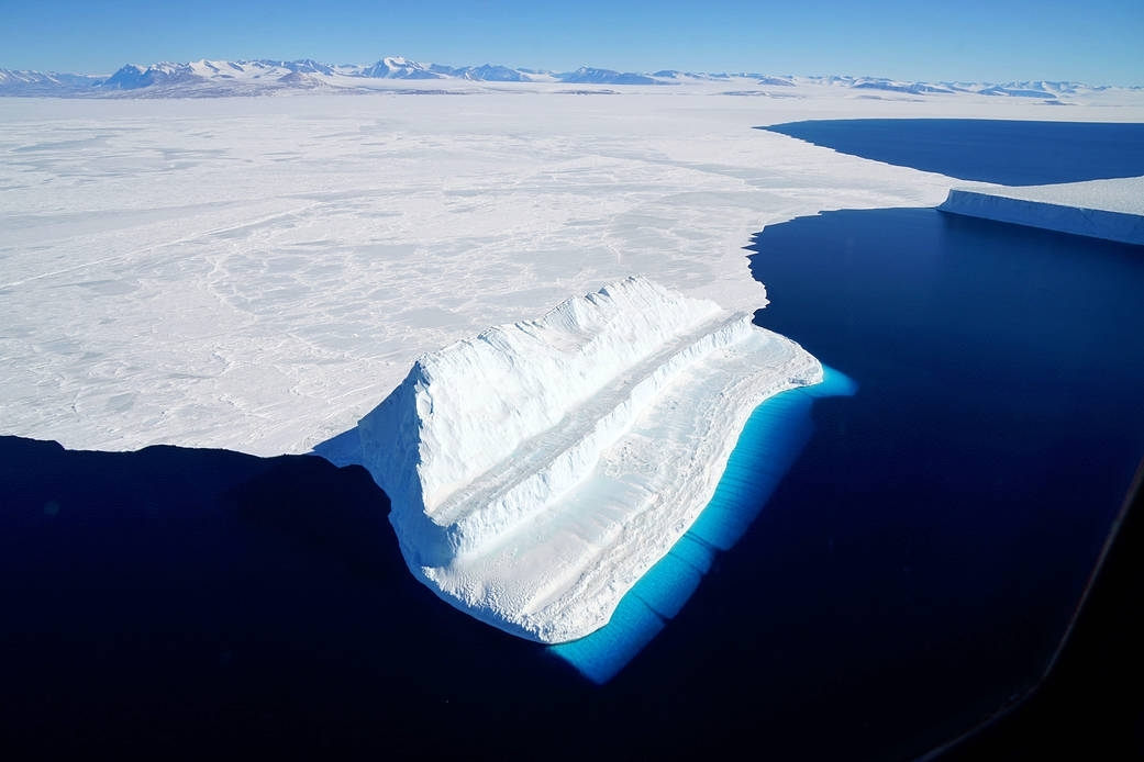 Antarctica blue ice