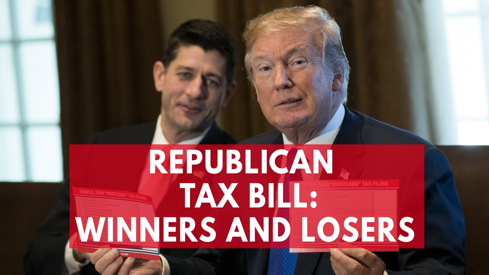 Republican Tax Bill Winners And Losers