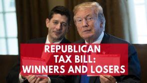 Republican Tax Bill Winners And Losers