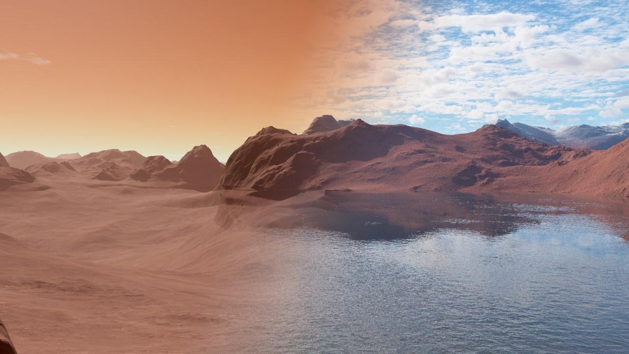Modern Mars vs Ancient Mars