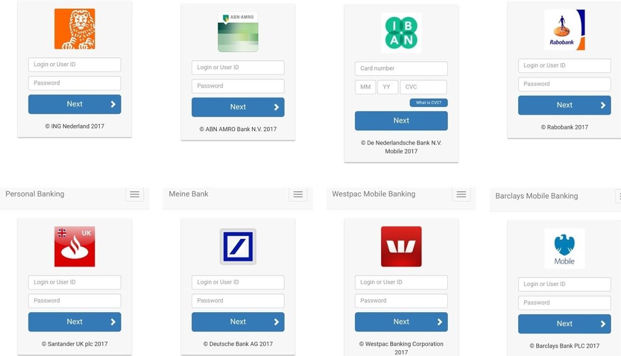 Malware inpersonating banks