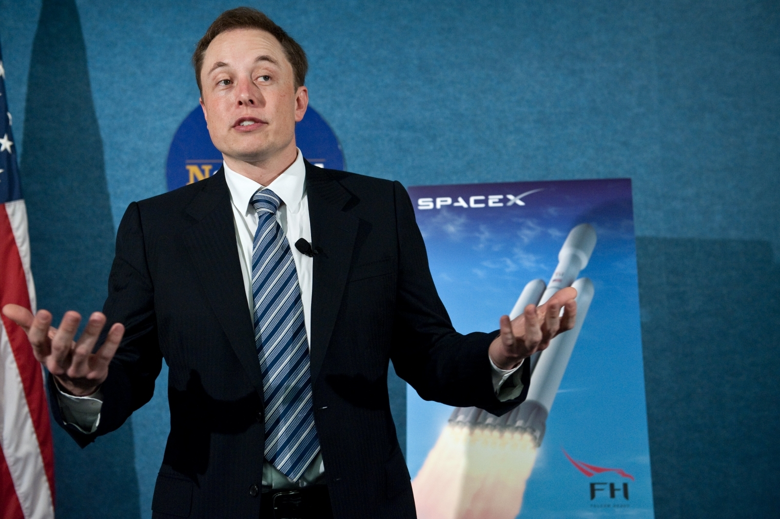 SpaceX's Falcon Heavy launch imminent as Elon Musk unveils first photos