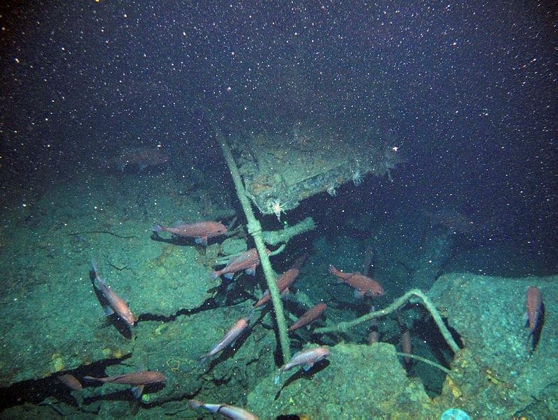 HMAS AE1 wreckage
