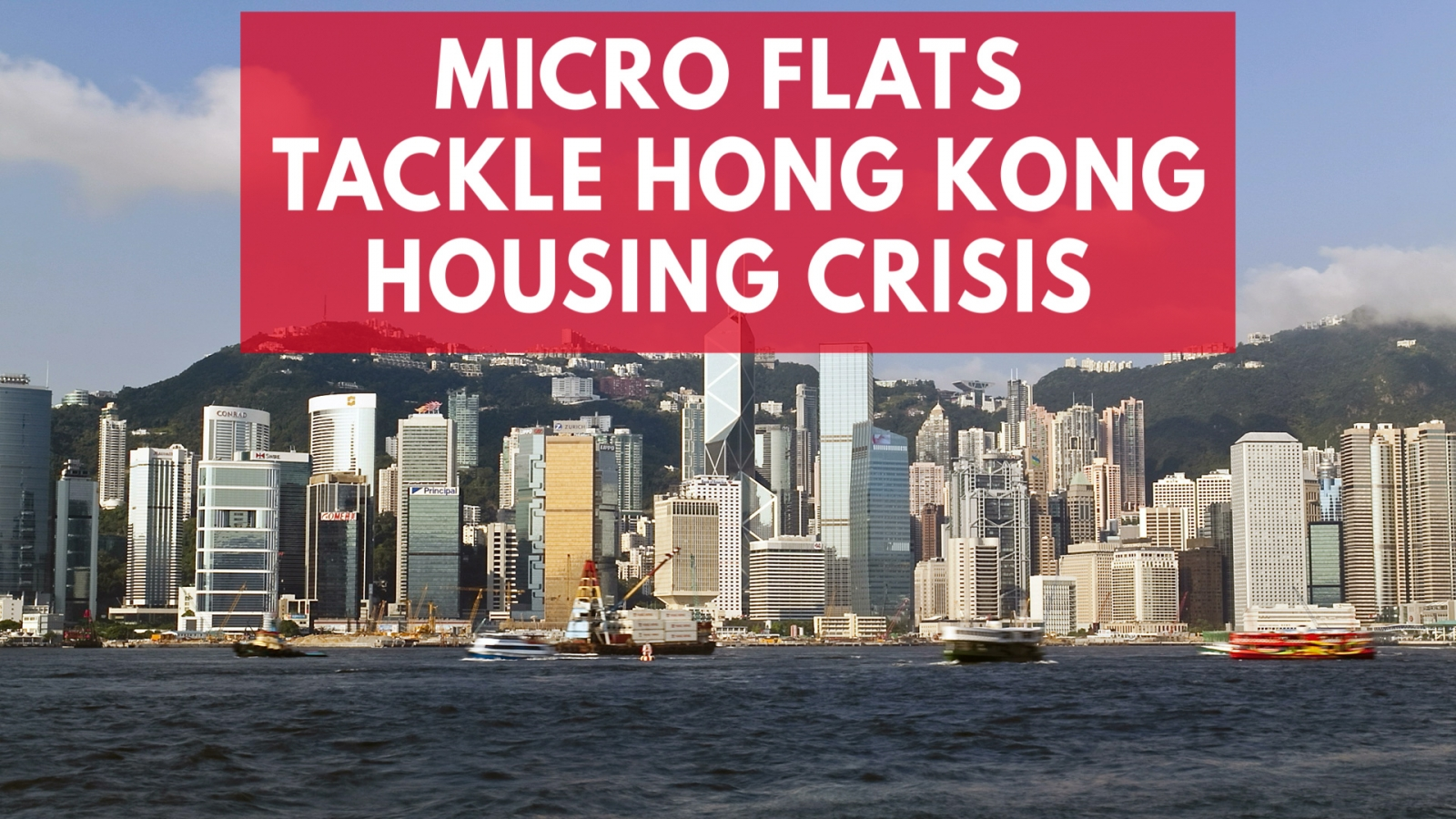 Hong Kong Faces a Housing Crisis Amid Micro Flat Popularity