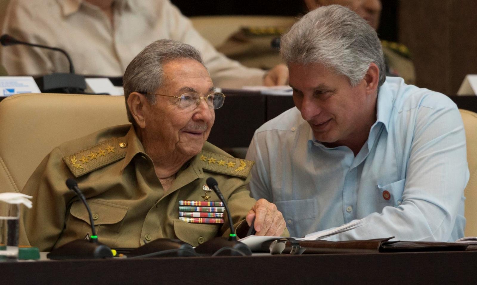Raul Castro,  Miguel Diaz-Canel