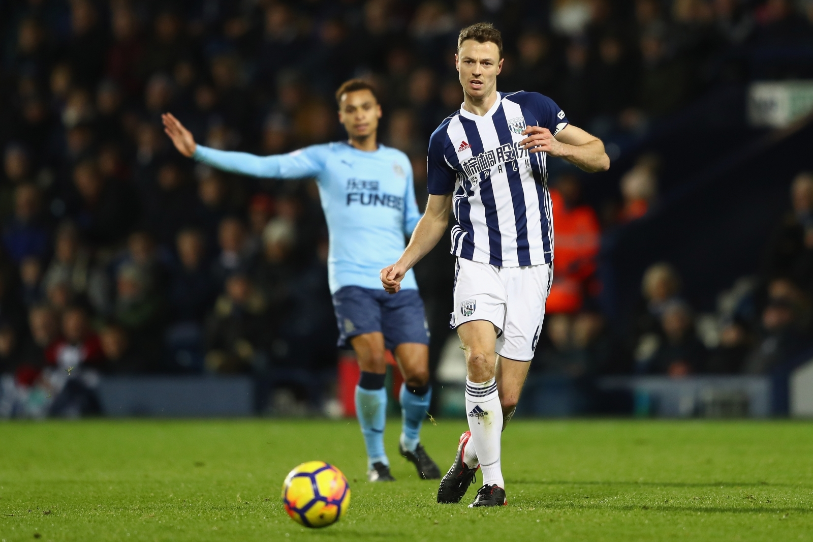 West Brom Captain, Jonny Evans set to leave club in January
