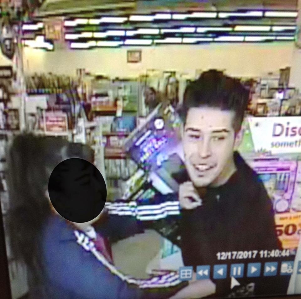 Robbery suspect whose pants fell down