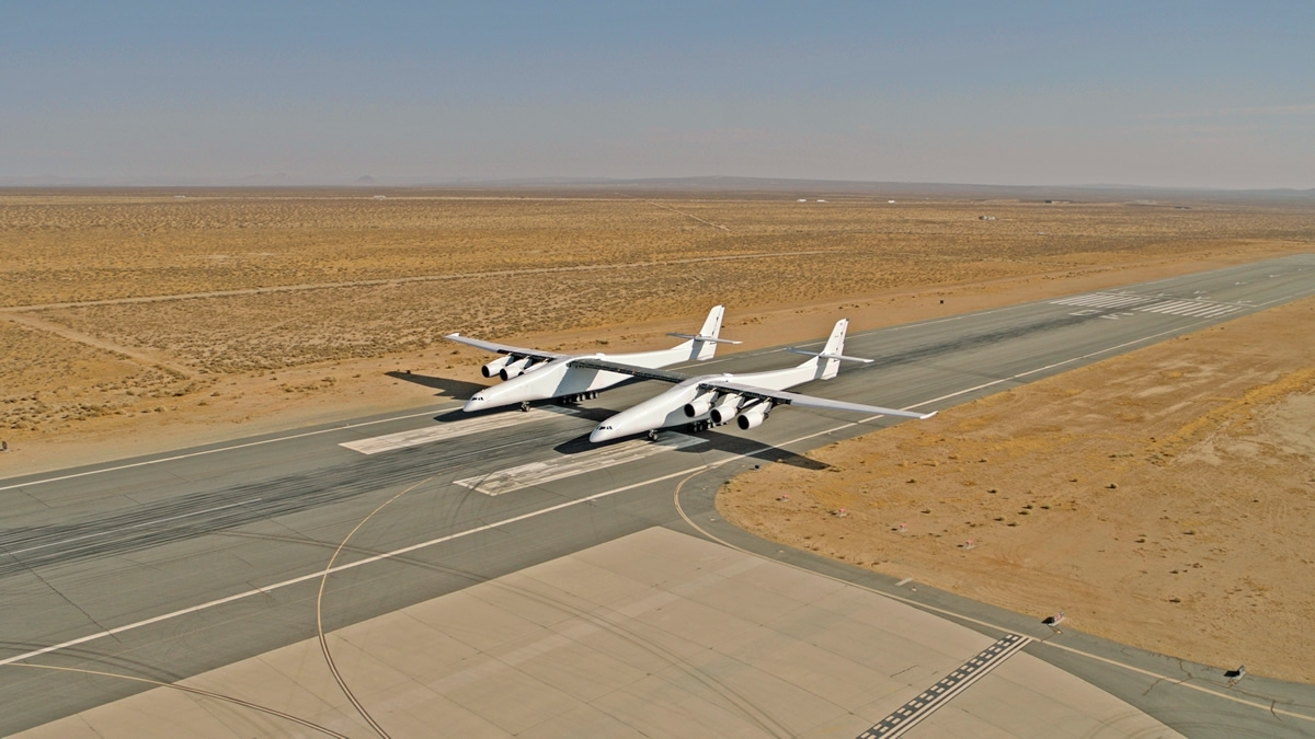 Stratolaunch system aircraft