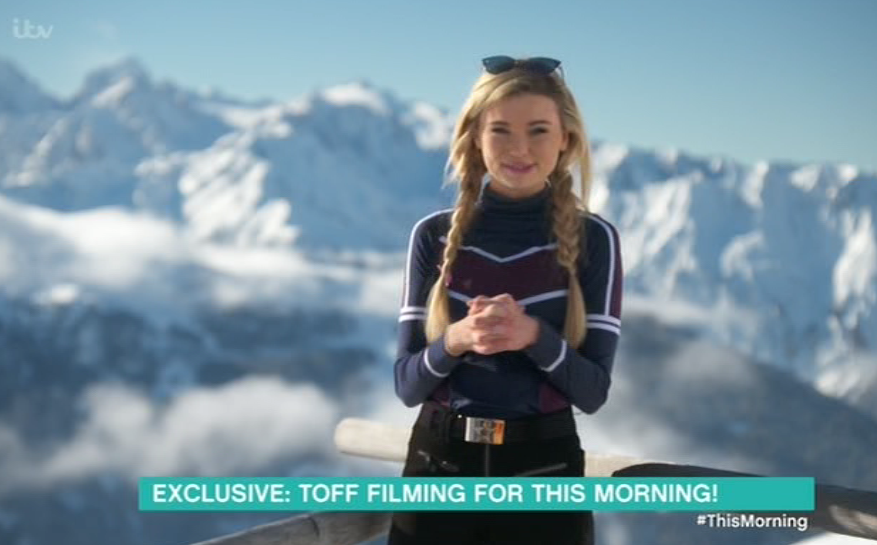 Toff has just landed herself a new television gig starting in January