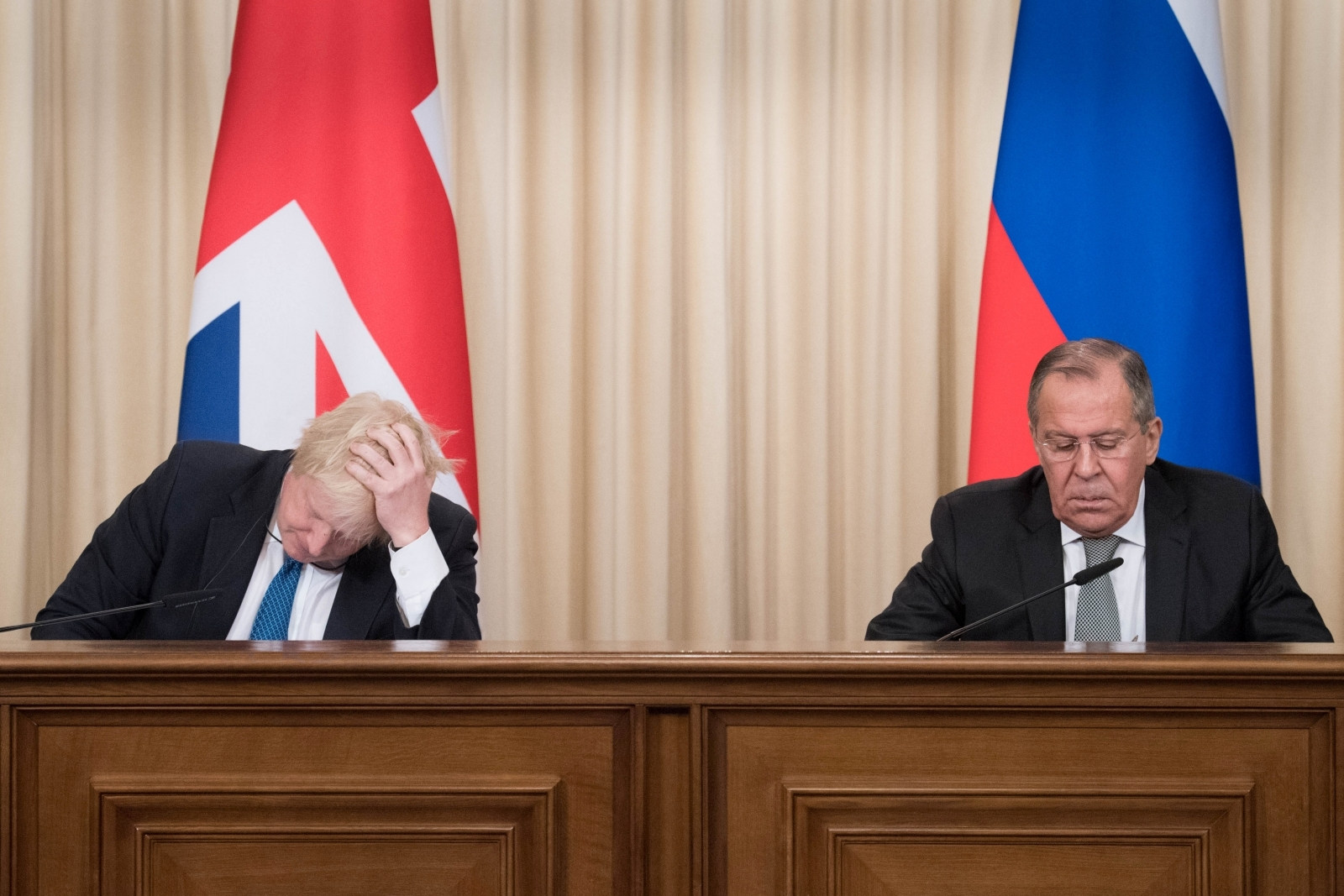 'Glad you're increasing Kettle Chips exports!' Boris leaves Russian Federation diplomats STUNNED