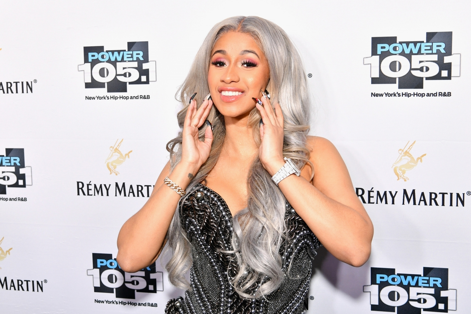 Cardi B Streaming Her New Track 'Bartier Cardi'