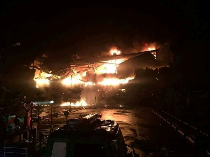 Philippines Mall fire