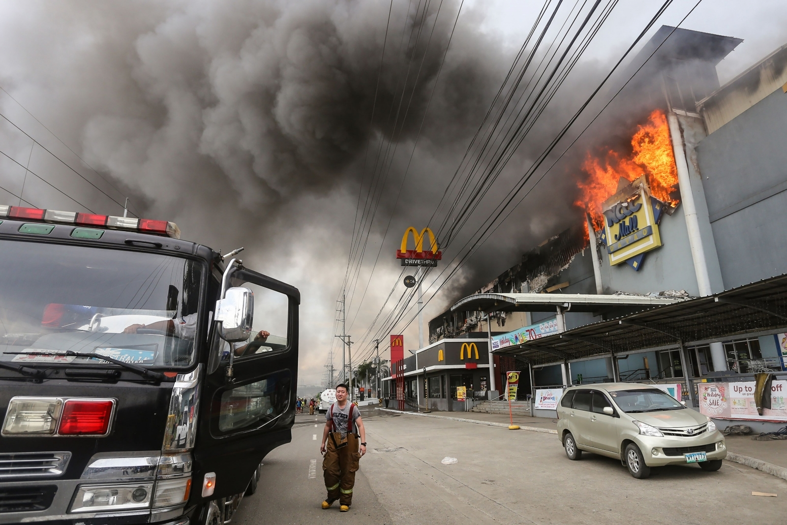 Davao mall fire