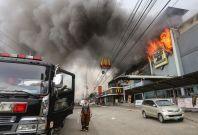 Davao mall fire