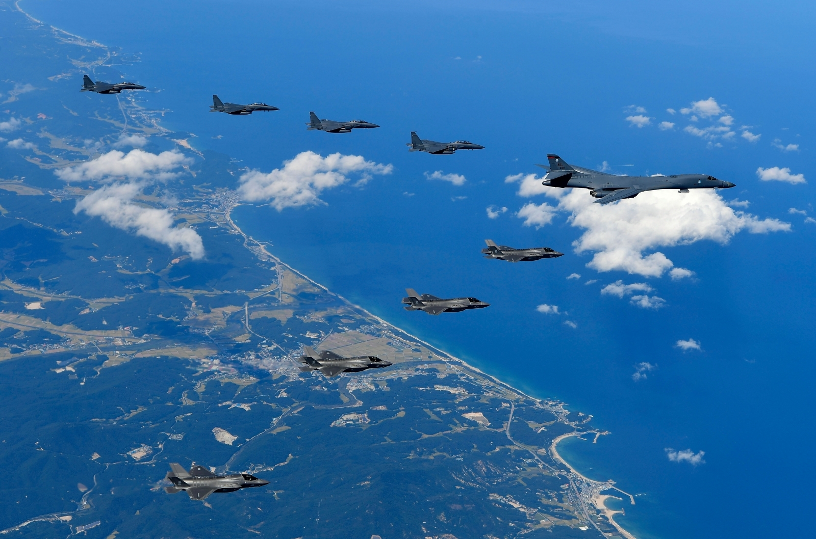 US Bombers Fly