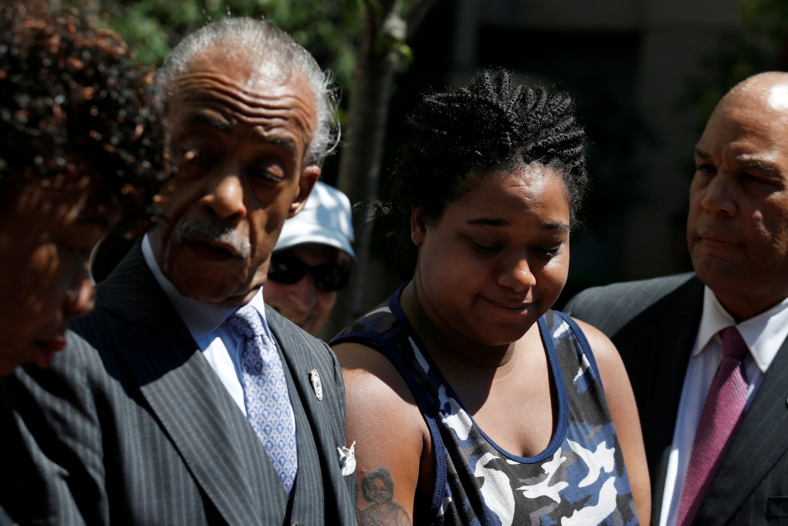 Eric Garner's 27-year-old daughter is in a coma