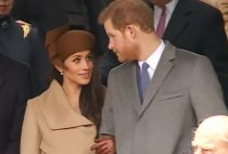 Meghan Markle And Prince Harry Greeted Well-wishers After Royal Family's Church Service At Sandringham