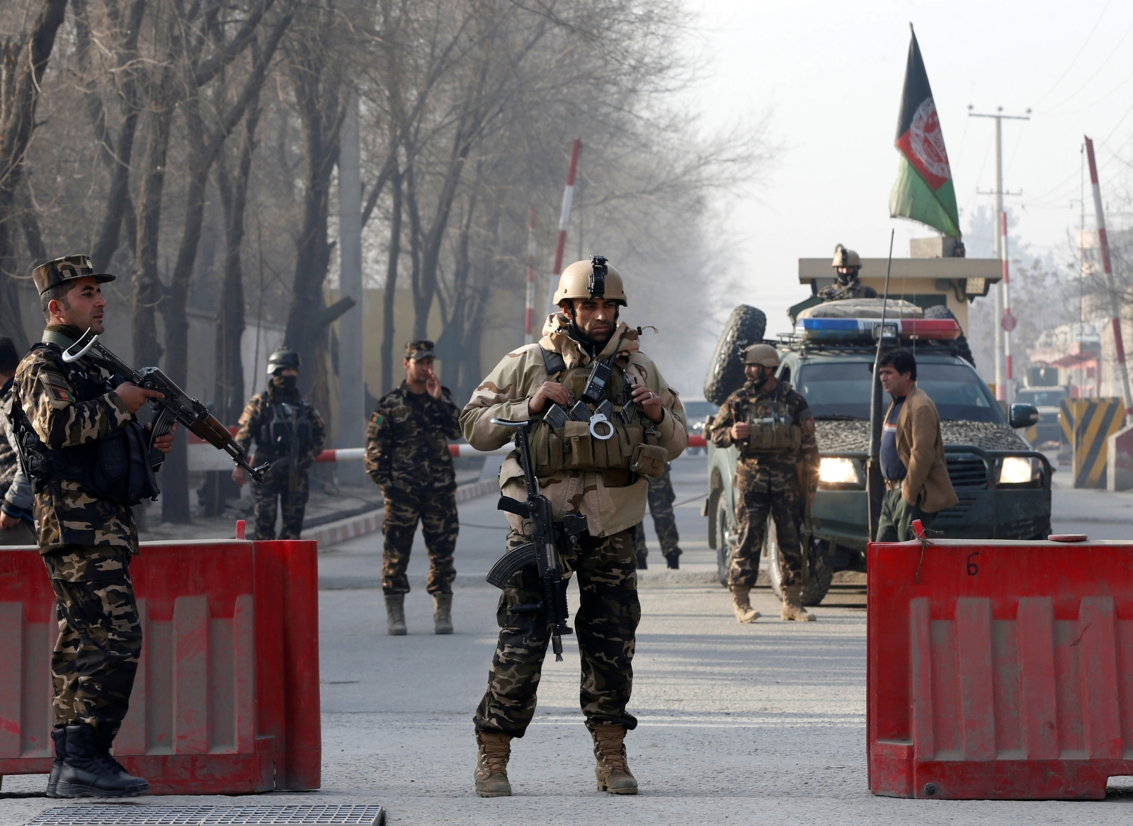 Afghan security forces Kabul