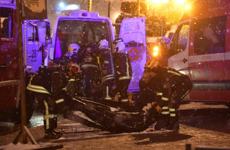 Moscow bus crash
